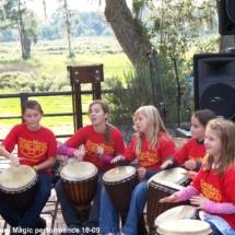 Drum Magic girls drumming 10-09