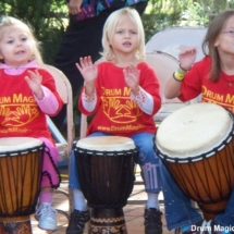 Drum Magic kids perf girls 10-09