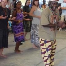 Kasa Panzu teaches African Dance 10-10