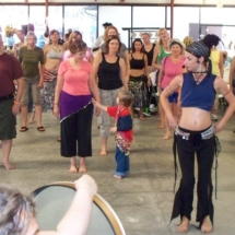Keiya and belly dancing workshop 10-10