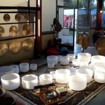 's crystal bowls and gongs