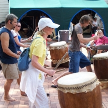 Taiko workshop