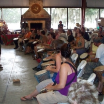 Thobos Lubamba African drum workshop 10-10