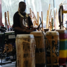 Thobos Lubamba on drums 10-10