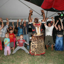 african dance crowd 4-09