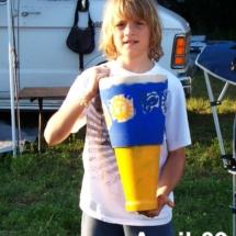 boy builds drum 4-09