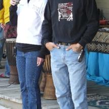 clint & Sharee 10-09 standing
