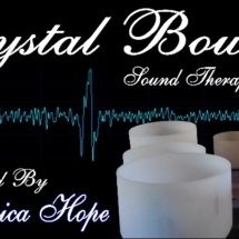crystal bowls with jessica hope