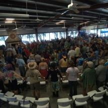 rhythm church holding hands 10-11