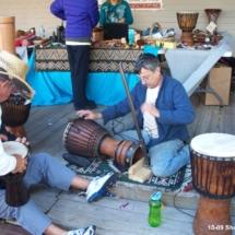 shorty Palmer 10-09 building drum